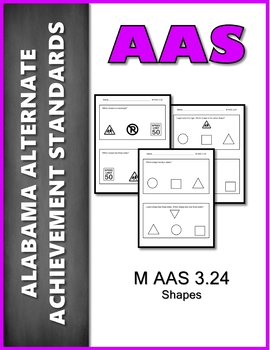 AAS Alabama Alternate Standards M 3.24 Shapes AAA