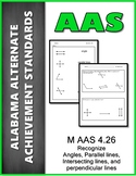 M.AAS.4.26 Lines Angles Achievement Standard