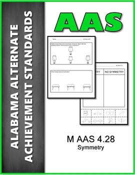 AAS Alabama Alternate Standards M 4.27 Symmetry Achievement Standard