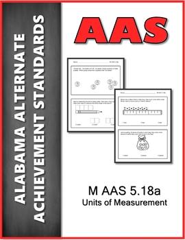 AAS Alabama Alternate Standards M 5.18a Time Quarter Hour Achievement Standard