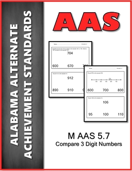 AAS Alabama Alternate Standards M 5.7 Round Numbers Achievement Standard