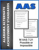 AAS Alabama Alternate Standards M 7.21 Probability Achieve