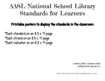 AASL 21st-Century Standards Posters