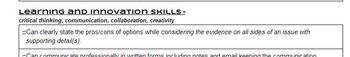 AATA CCSS and 21st Century Skills