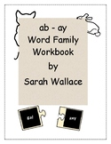 AB-AY WORD FAMILY ACTIVITIES
