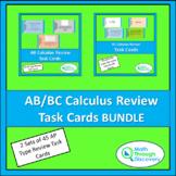 AB/BC Calculus Review Task Cards BUNDLE