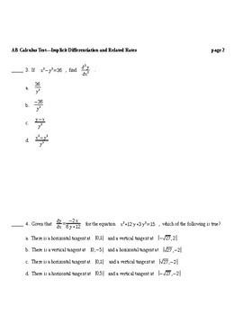 AB Calculus: Curve Sketching