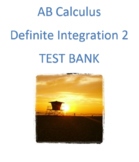 AB Calculus - Definite Integration Part 2