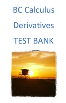 BC Calculus- Derivatives