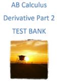 AB Calculus- Derivatives Part 2