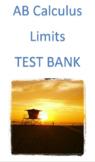 AB Calculus Limits Test