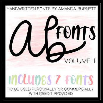 AB FONTS   Volume 1