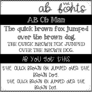 AB FONTS Volume 1 | The Feelings