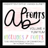 AB FONTS Volume 4 | Yum Yum