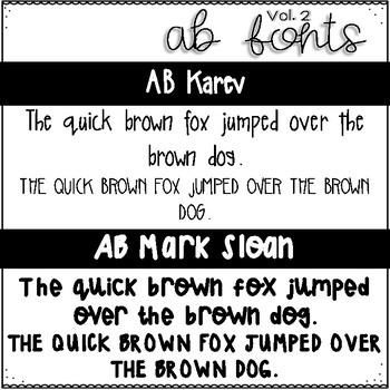 AB Fonts Volume 2 | Grey's Addiction
