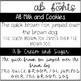 AB Fonts Volume 3 | All the Sweets