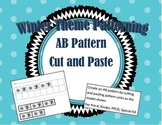 AB Pattern Cut and Paste Winter Theme