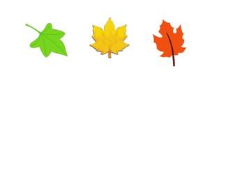 AB Pattern - Fall Leaves