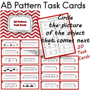 AB Pattern Task Cards