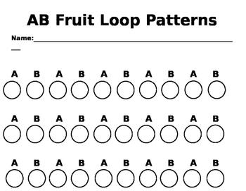 AB Style Fruit Loop Pattens