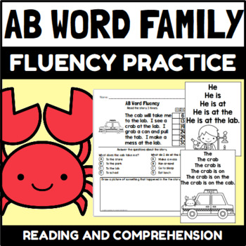 AB Word Family Activity and Center Packet