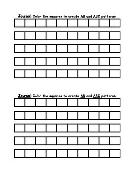 AB and ABC Patterns
