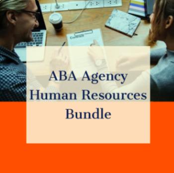ABA AGENCY HUMAN RESOURCES BUNDLE