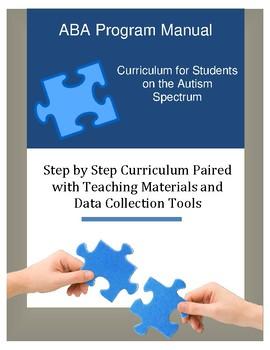 ABA & Autism Curriculum and Data Collection Jumbo Bundle