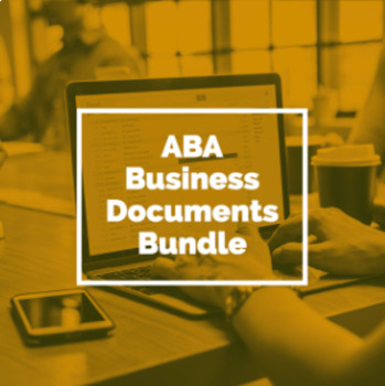 ABA BUSINESS DOCUMENTS BUNDLE