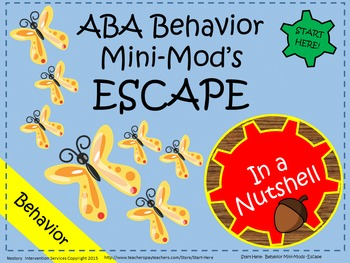 ABA Behavior Intervention Plan - Escape