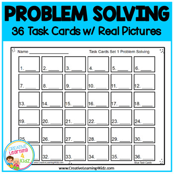 ABA Task Cards 1 Problem Solving
