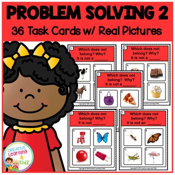 ABA Task Cards 2 Problem Solving