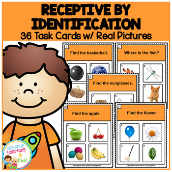 ABA Task Cards 6 Receptive Identification 1