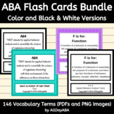 ABA Flash Cards Bundle - Color and Black & White Versions
