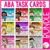 ABA Task Card Bundle Special Education