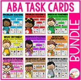 ABA Task Card Bundle Special Education