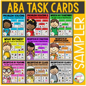 ABA Task Card Sampler