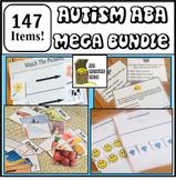 Mega ABA Resources Bundle, Autism Classroom Resources, DTT