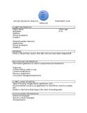 ABA Treatment Plan Template