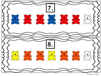 ABB Patterns Around the Room - Colorful Bears