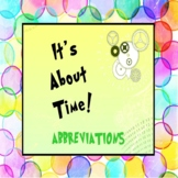 ABBREVIATIONS: It's About Time