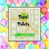 ABBREVIATIONS: Travel Tidbits