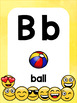 ABC 123 Alphabet and Number Posters - Emoji Theme