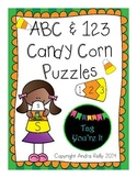 ABC & 123 Candy Corn Puzzles