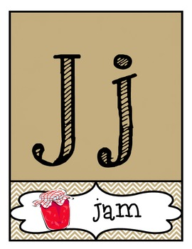 ABC 123 Classroom Labels, Fancy Block Letters
