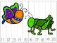 ABC & 123 Cut Apart Puzzle - Bugs