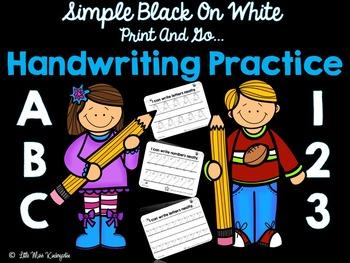 ABC 123 Handwriting Practice!