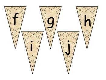 ABC & 123 Ice Cream Cones!
