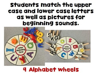 Interactive Learning Wheels Set