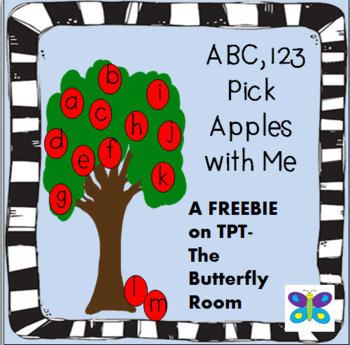 ABC 123 Match Apples with Me